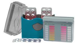 Messgerät pH-Chlor mit Tabletten