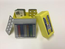 Messgerät PH/H2O2 flüssig, mit 3x20 Tablette