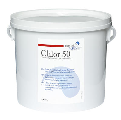 Chlor 50, 5 kg Eimer (Dryden Aqua)